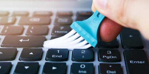 Чистим клавиатуру от грязи. Эффективные способы очистки