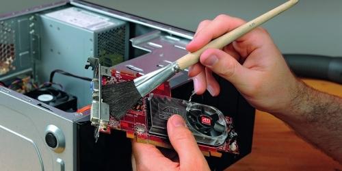 Как провести чистку компьютера от пыли